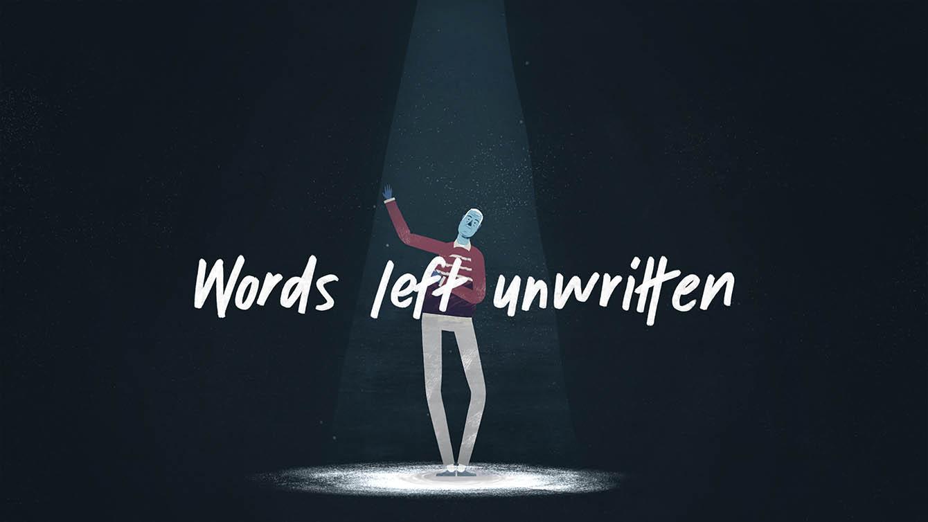 TEDx – Words Left Unwritten